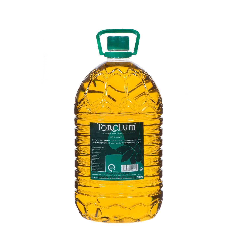 Aceite-oliva-arbequina-Torclum-Garrafa-PET-de-5-litros