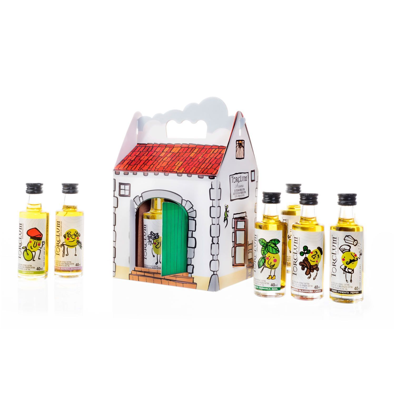 Pack Masía con 12 Aceites Aromatizados Torclum