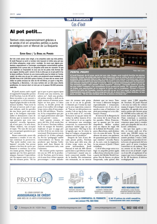 Entrevista diari economic