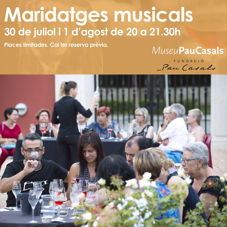 maridatges Pau Casals 2019