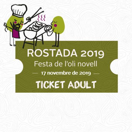 Ticket rostada 2019 adult